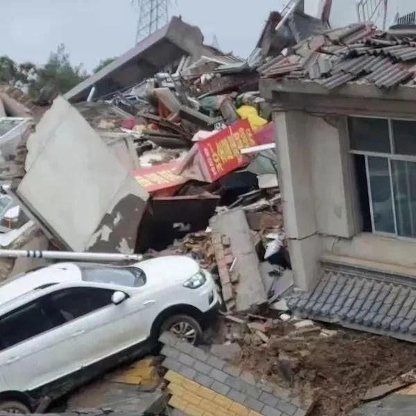 甘肃多地强降雨引发地质灾害!滑坡、塌方、倒塌...