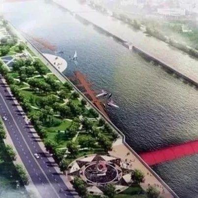 藉河生态工程三号湿地将于11月开工建设