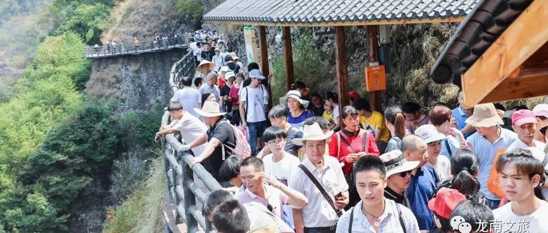 人从众!国庆第四天,带你看看赣州各大景区排队情况!