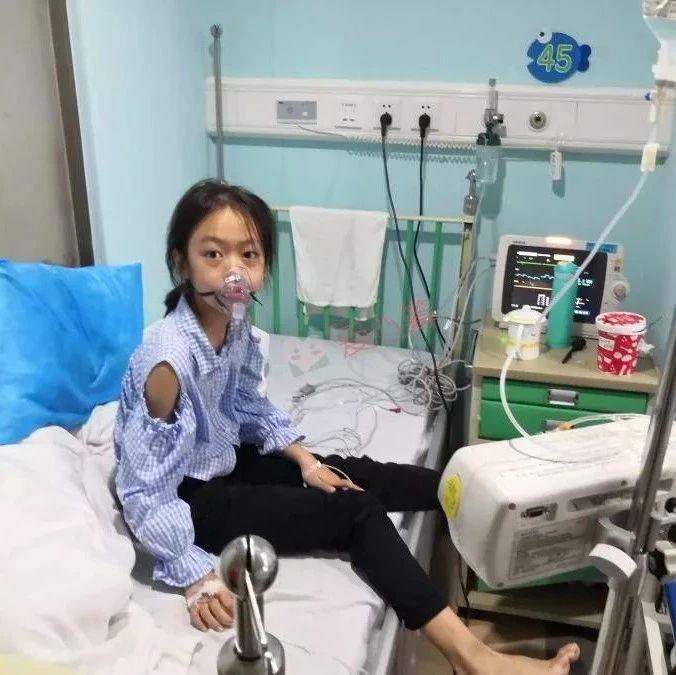 可怜!蓬溪10岁重病女孩被剃光头发,躺床上等救命……