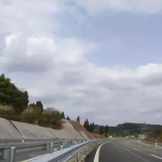 好消息!遂宁至蓬溪快捷通道项目船山段顺利通过交工验收!