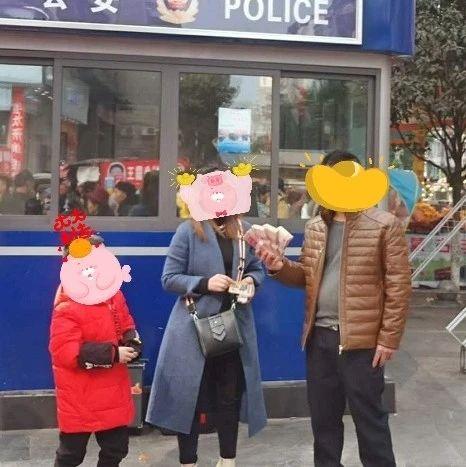 春节到蓬溪探亲竟得到五万元现金,她的方式羡煞旁人!