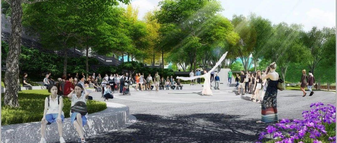 蓬溪老城区将建一处新公园,海量高清效果图惊艳来袭!