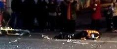 蓬溪昨晚发生惨烈车祸,致一摩托车驾驶员死亡一人受伤!现场不忍直视!