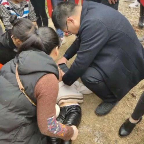 蓬溪一小孩2米之上掉落受伤这位及时施救的好心人你在哪儿?
