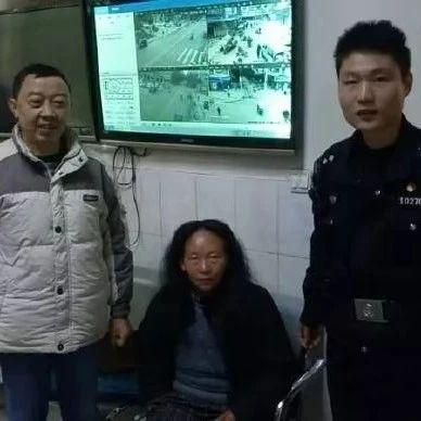 蓬溪一女子走失7年,流落街头得到民警帮助顺利回家!