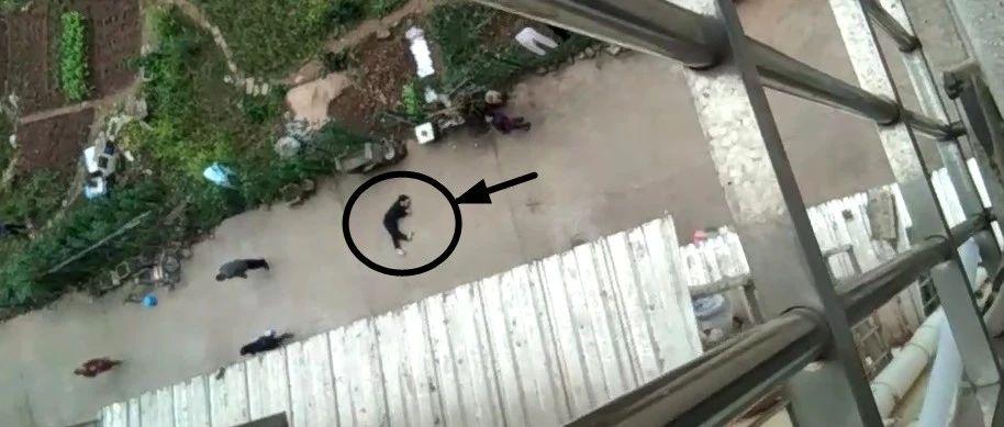蓬溪一男子在小区内坠楼身亡