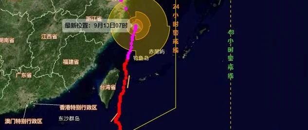 """警报!警报!台风""""灿都""""或在南通这里登陆!"""