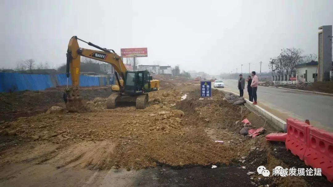 麻城城建重点项目:沪蓉东段复工,9月份将正式完工