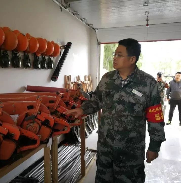 林业局局长安东深入林场检查指导工作