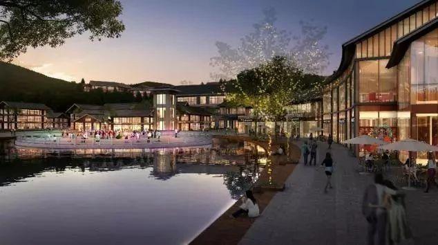 投资200亿 这个度假小镇建在泸州最高峰,还有冰雪游!
