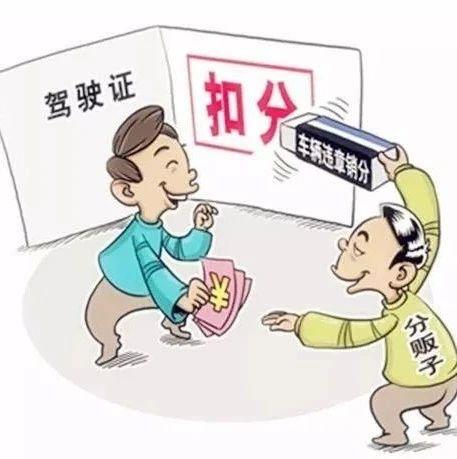 """泸州交警部门:严打""""分串串""""!发现非法中介请及时举报"""
