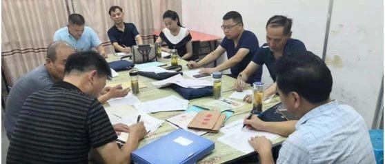望江县开展校外培训机构年检工作