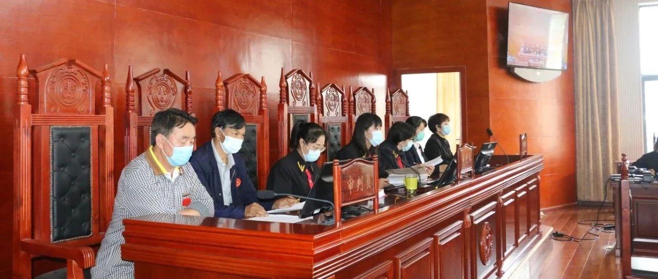 腾冲法院首次采用七人合议庭审理一起公益诉讼案件