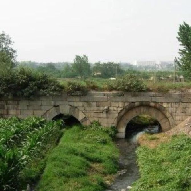 富平古桥梁