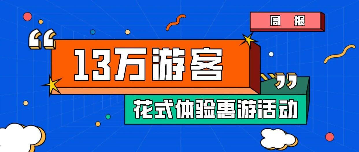 上周,冷空�怆y阻13�f游客花式�w�惠游活��!