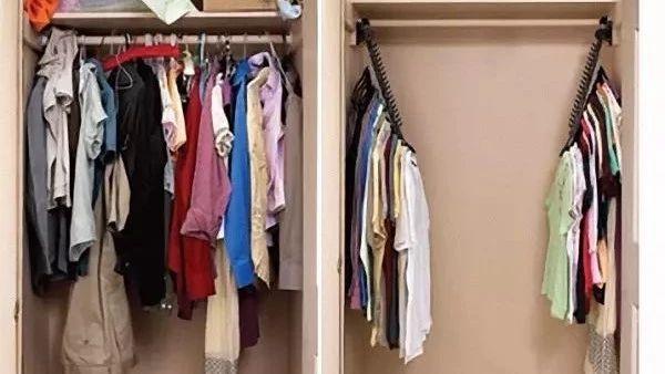 她在衣柜里系了根鞋带,衣柜竟然瞬间大一倍,服!
