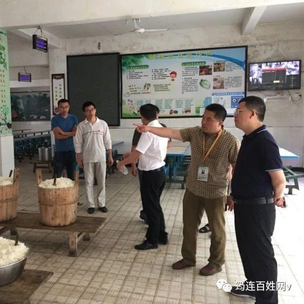 筠连县市场监管局检查学校夏季食品安全,并提出5条建议!