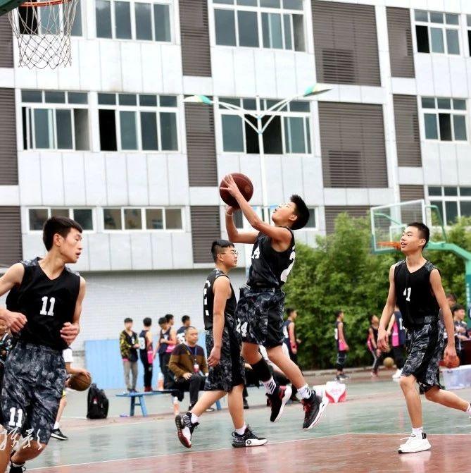 燃起篮球火~筠连县2019年中小学生篮球比赛已于今日开幕!