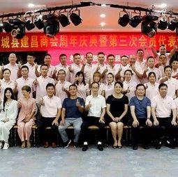 热烈祝贺南城县建昌商会周年庆典暨第三次会员大会盛大召开!