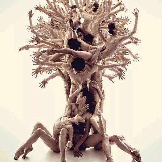 震撼的人体艺术!第一次见,实在大开眼界