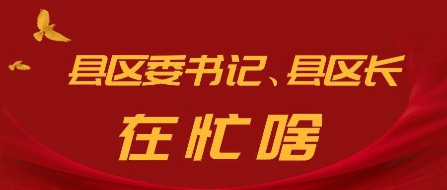 【关注】萍乡各县区委书记、县区长这周在忙啥?(4月13日—4月19日)