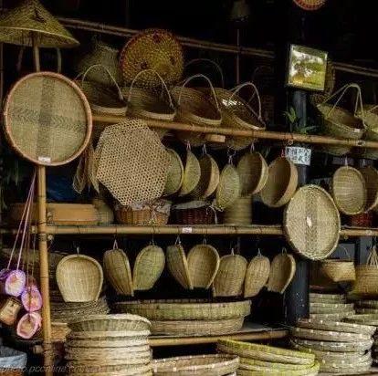 �@些快要消失的竹制品,富�人的��r���里一定有它