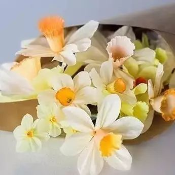 这么逼真的水仙花,是用纸做的