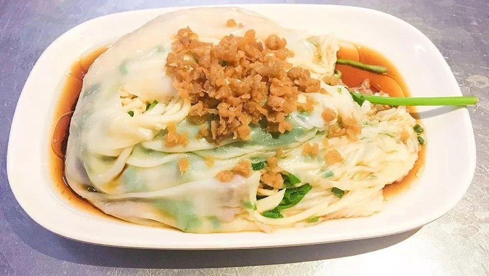 周末食咩个|棉湖美食新品种――汕头风味的鸡面肠粉,吃过么?