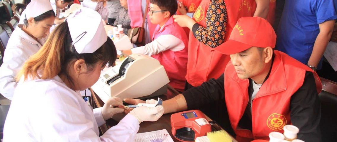5月15日,我县志愿者献血20余万毫升