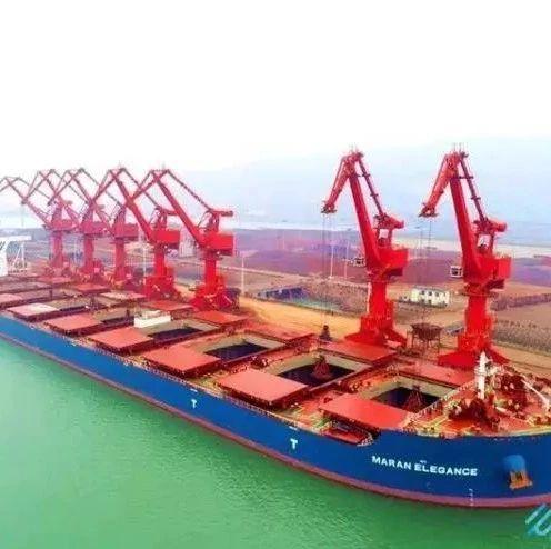 香江万基首批进口矿石到港,今年计划进口300万吨!
