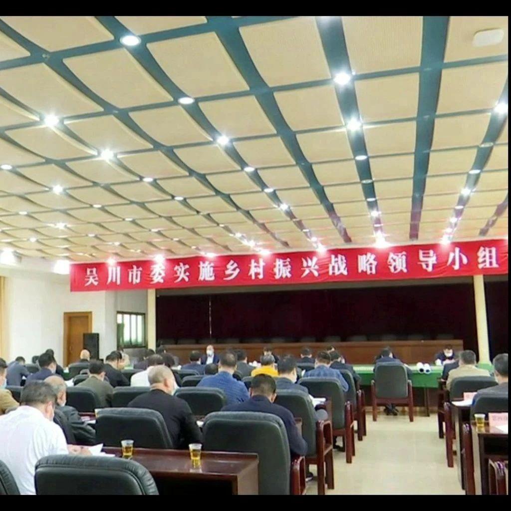 市委召开实施乡村振兴领导小组会议