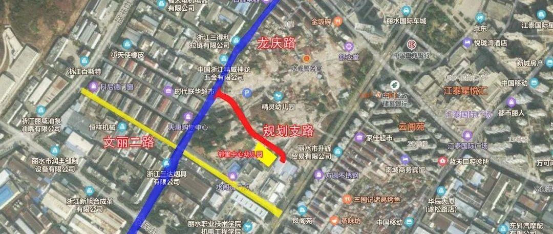 总长304米,丽水南城又要新建道路,横穿水阁村……