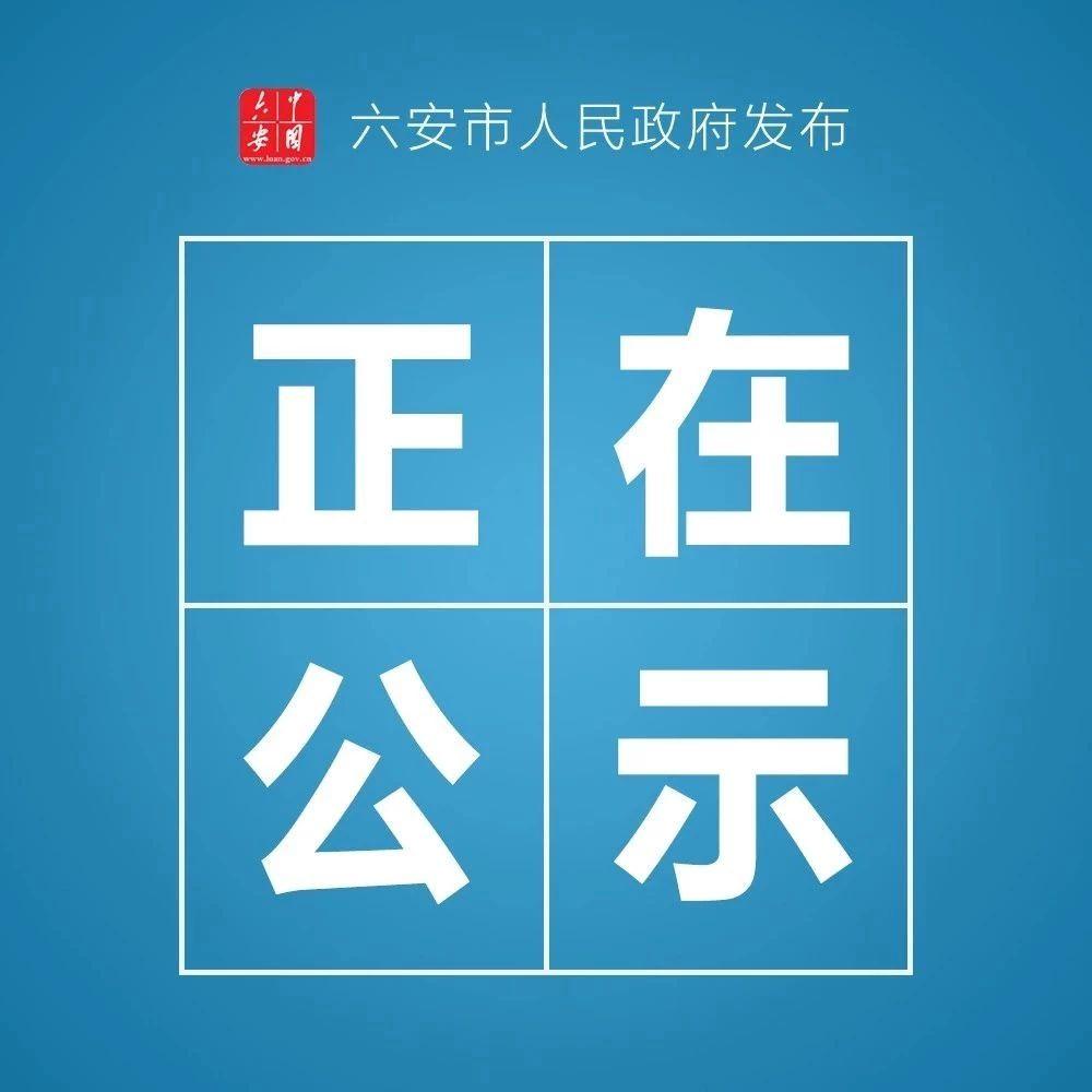 六安市公布拟表彰名单,金寨的Ta们上榜了!