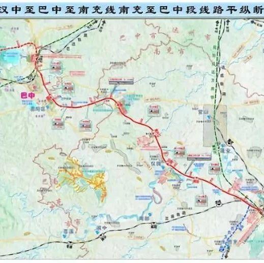 【四川交通】汉巴南高铁南充至巴中段举行开工动员项目有望年内动工