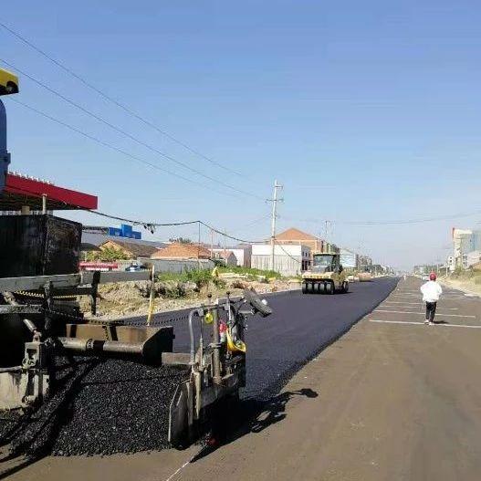 武穴市广济大道东段延伸改扩建工程如期完工