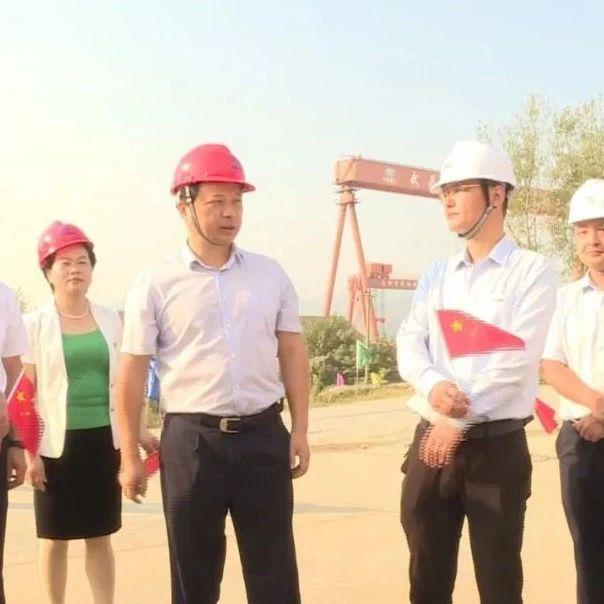 武穴青林闸主体工程破堤动工,为新中国成立70周年献礼!