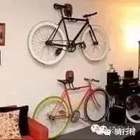 逼格满满,普通家庭里单车的各种摆放办法。