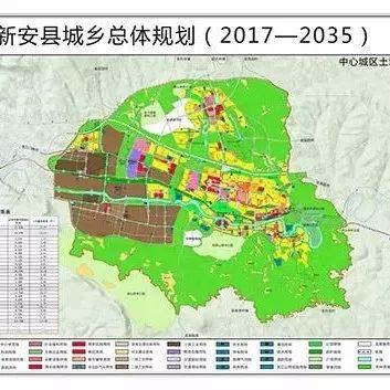 不得了!33个特色村,28个搬迁村…新安县身价要暴涨!