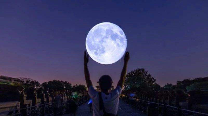 """必看!超级月亮""""跌落""""齐河,视觉盛宴,快来围观!"""