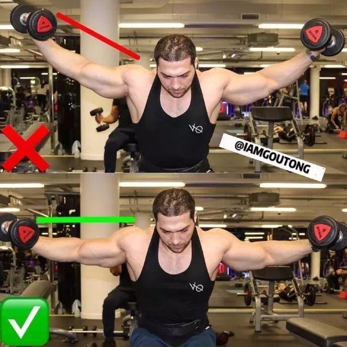 健身房举铁常见错误动作,自己对照,别练的满身是伤!