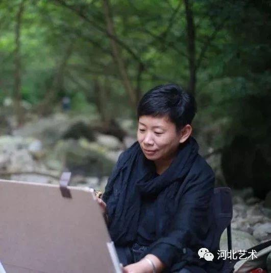 ��g周刊||河北省青年美�g家�f��理事――郭��梅
