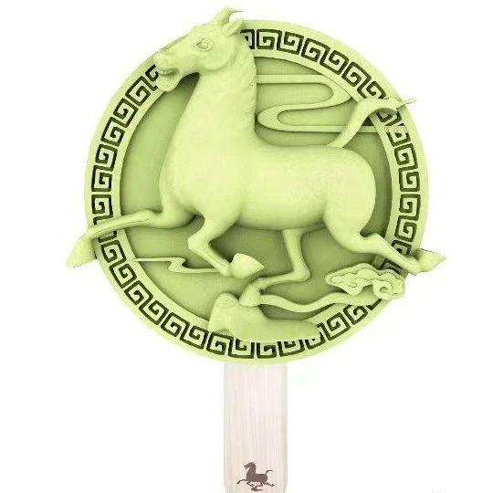 铜奔马、彩陶瓶…甘博文创雪糕来啦!