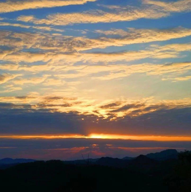 沅陵这个地方的日出日落美景宛若仙境,美翻了