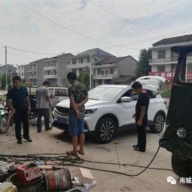 南城县市场监管局徐家分局成功调解一起汽车轮胎消费纠纷