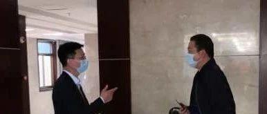 县委常委、宣传部部长黄晓俊到医学观察点检查指导工作
