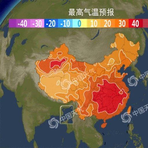 合江未来一周高温强度还会持续