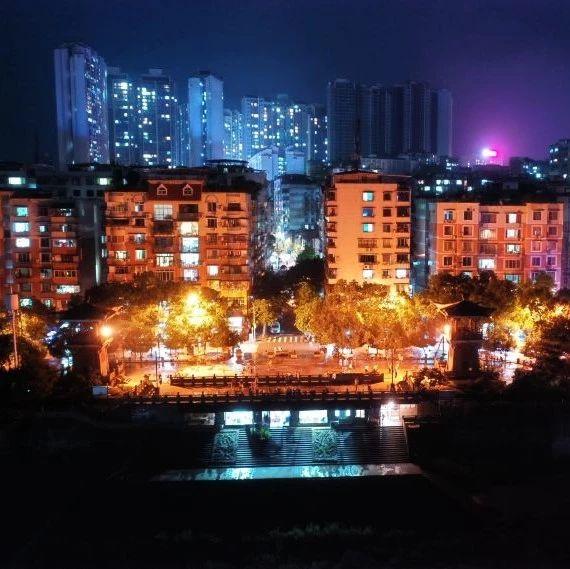 ?定居外地的合江小伙儿,用这样的方式拍出了家乡的夜景!