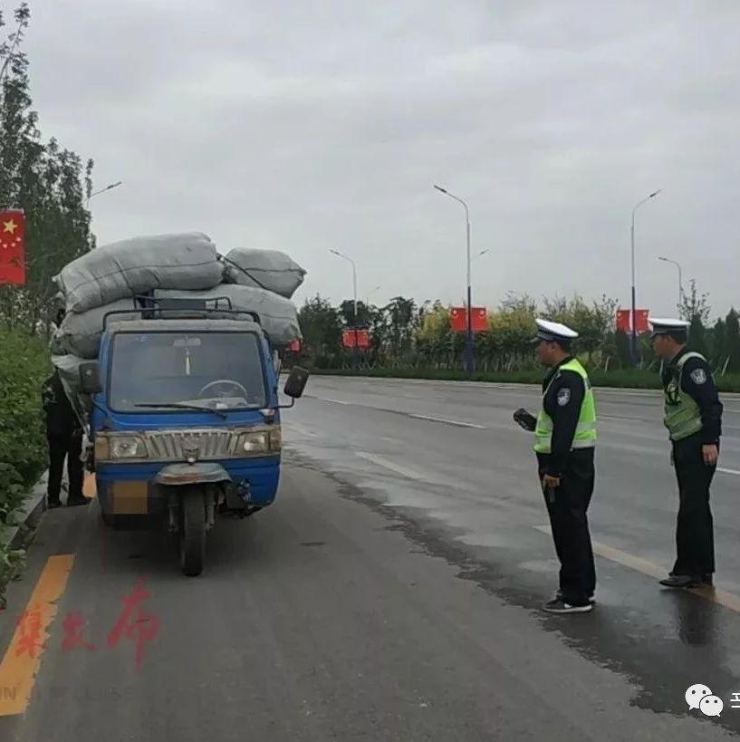 汽车373辆、拖拉机109辆闯禁行违法行为被辛集交警查处