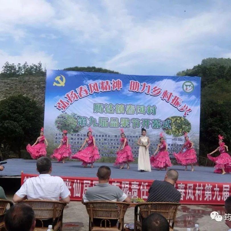 筠连春风村品果节,除了欣赏歌舞,品尝李子,还能...